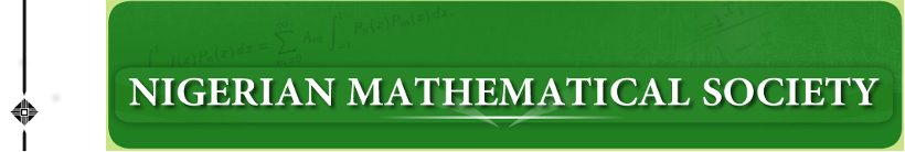 Journal of the Nigerian Mathematical Society